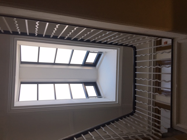 Roof Glazing with Electric Openers